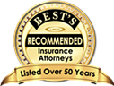 Best's Recommended Attorneys Insurance 2013