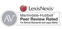 LexisNexis Matindate Hubbell Peer Review Rated - For Ethical Standards and Legal Ability